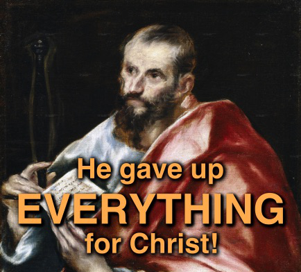 The Apostle Paul is the Rich Young Ruler.