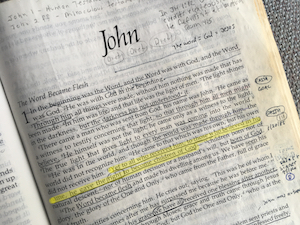 John 1:12 is not about faith alone!